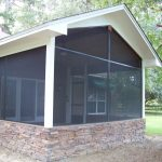Screen Room Addition on Buck Lake