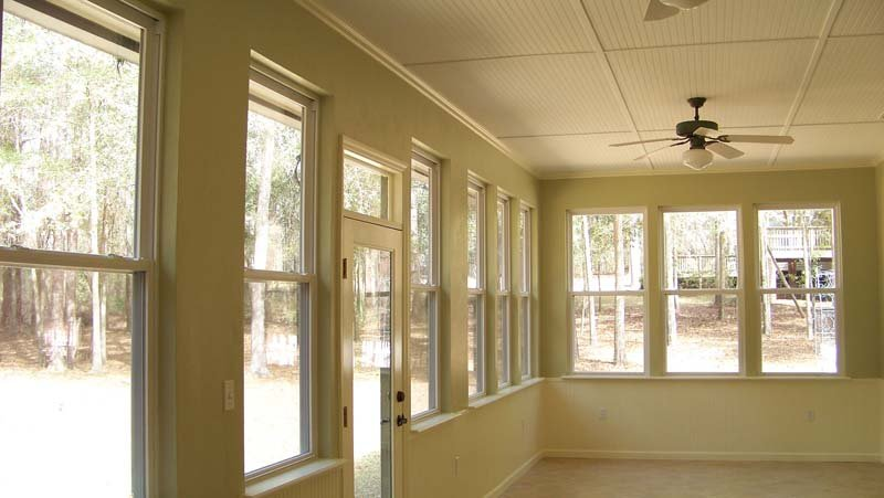 Sunroom Addition Interior 4