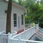 Porch addition in Monticello