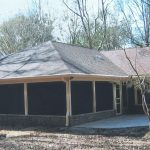 Screen room addition in Pine Tip