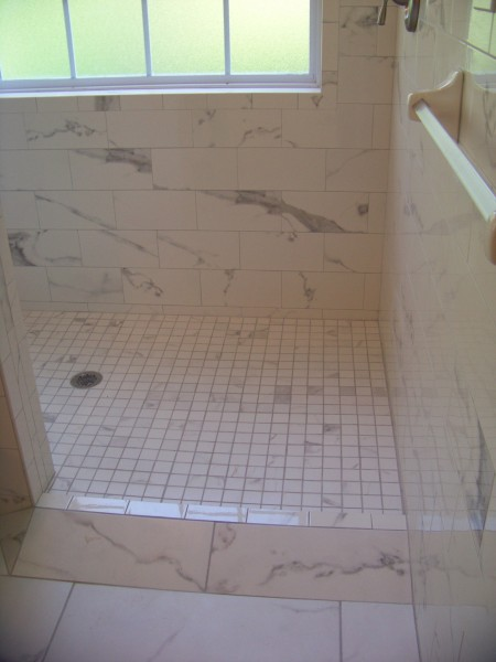 Roll-In Bathroom Design